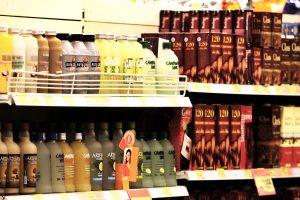 Alcohol en supermercado