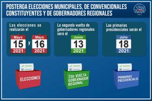 Posterga elecciones 1