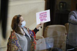Diputados aprueban tercer retiro