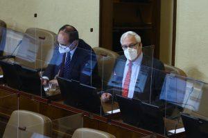 Diputados Ignacio Urrutia e Issa Kort