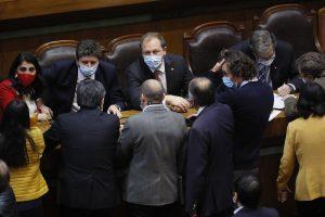 Ministros y diputados