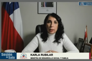 Ministra Karla Rubilar