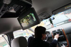 DVD en auto
